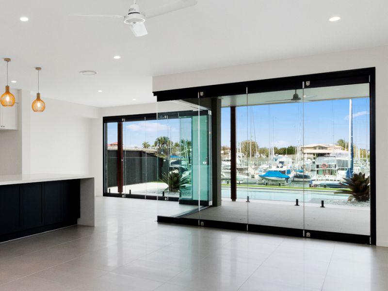 Frameless Glass Bifold Doors - Australia